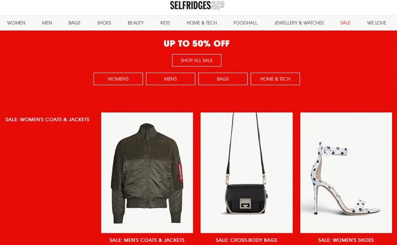 b35befc27618 Selfridges sees record sales of 4 million pounds on Boxing Day