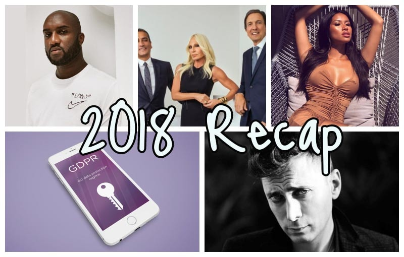 2018 fashion recap: the most important news of the year
