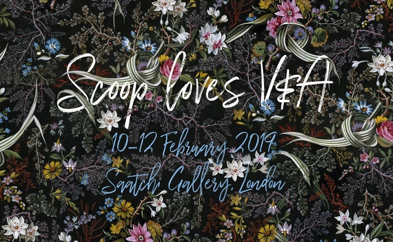 Scoop partners up with V&A for its February edition