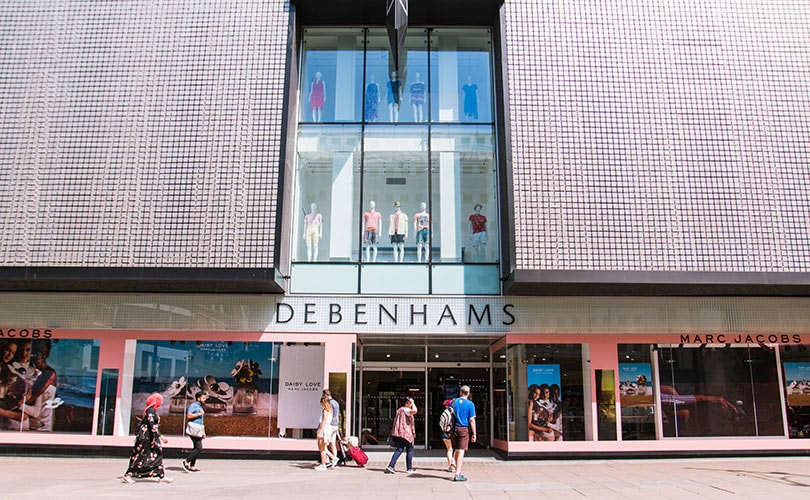 Debenhams eyes support centre job cuts