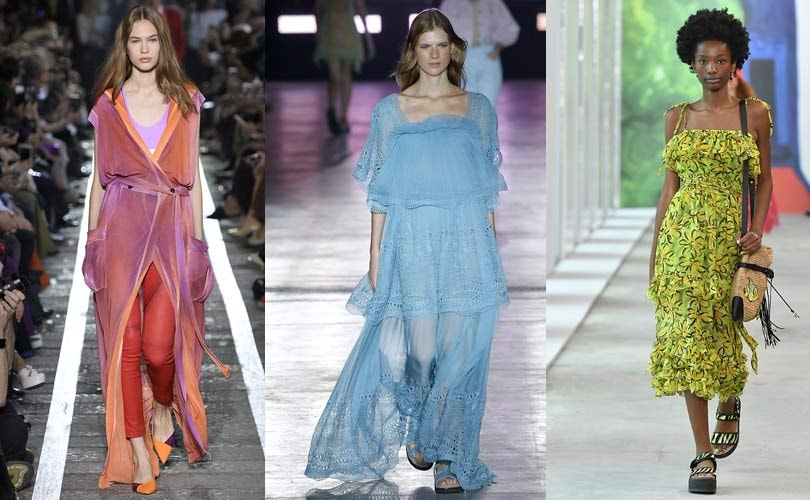 Fashion Trends Summer 2020.Nature Inspired Colors Set To Dominate Spring Summer 2020