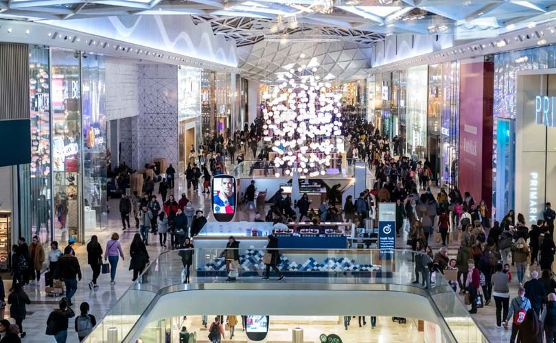 Shoppers flock to Westfield over Christmas