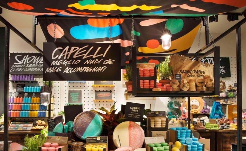 Lush to open first plastic packaging-free store in UK