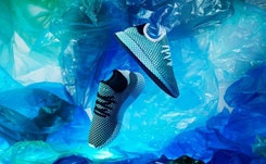 Adidas pledges to make more shoes using recycled plastic waste in 2019