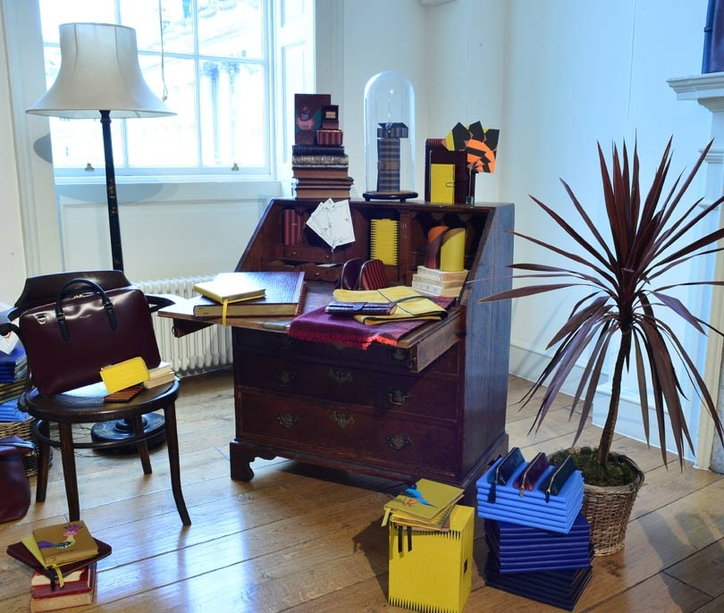 LFW: Debut Smythson collection from Luc Goidadin