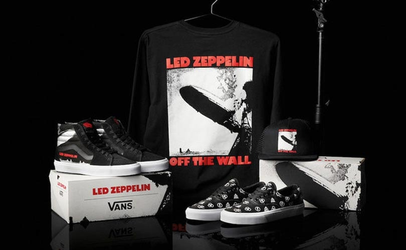 dfff815ab2 Led Zeppelin to launch collection with Vans