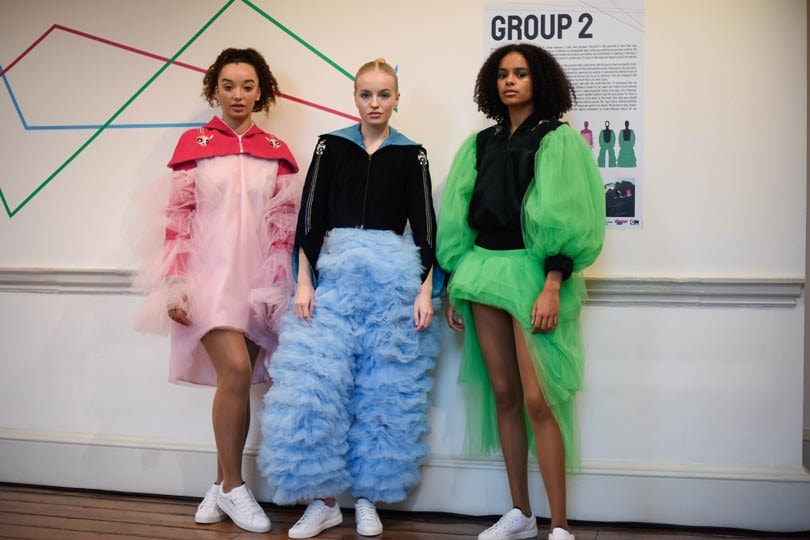 In pictures: London College of Fashion partners with Cartoon Network for student project