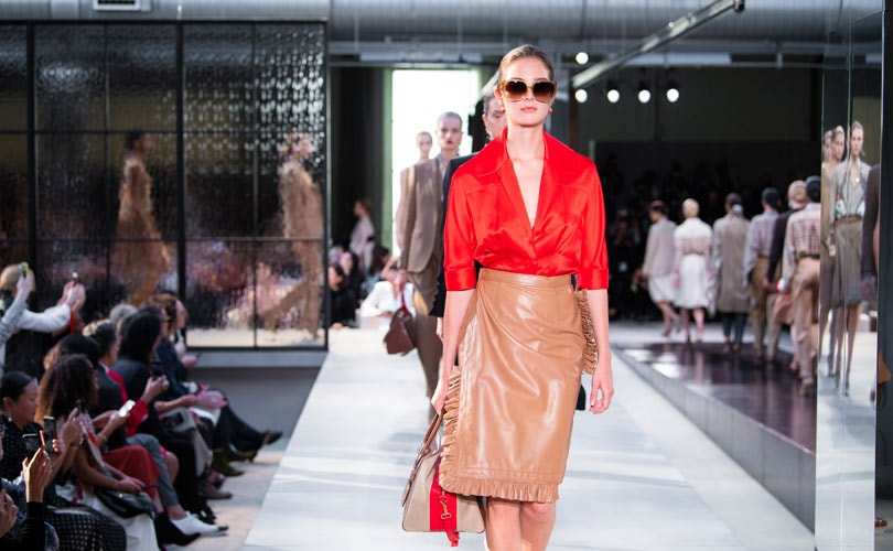 51d434167dea New-look Burberry tops the bill at London Fashion Week