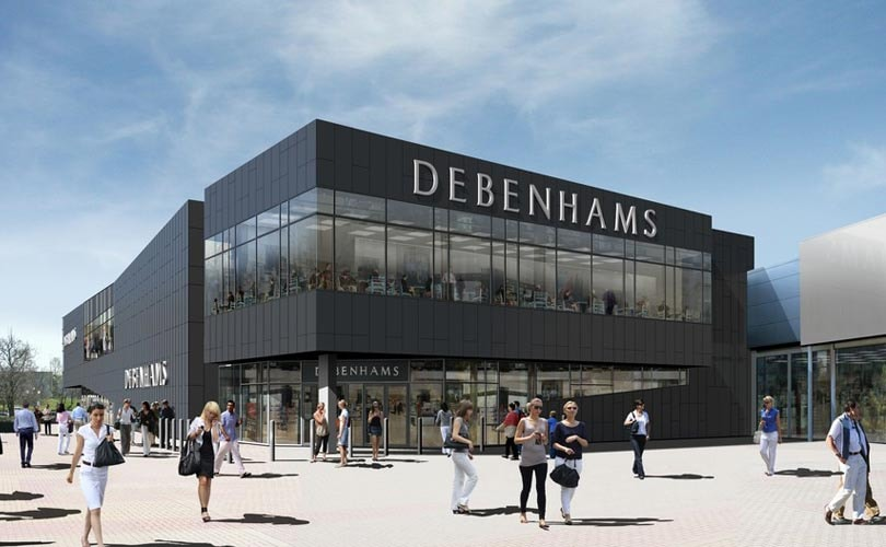 Debenhams secures 40 million pound cash injection
