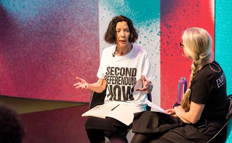 Pure London: Katharine Hamnett blasts ethics of government, policy makers and fast-fashion brands