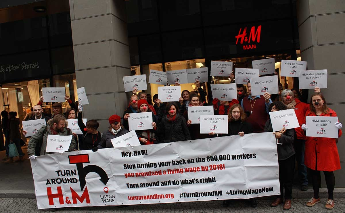 Clean Clothes Campaign calls on H&M to create living wage fund