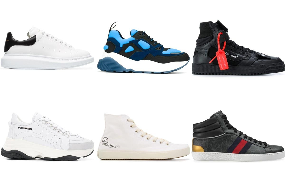 most-searched luxury sneakers