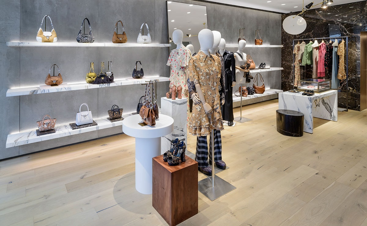 c29f670881273 American designer fashion label Michael Kors has opened a new flagship Collection  store on Old Bond Street in London. Housed in a six-storey Georgian ...