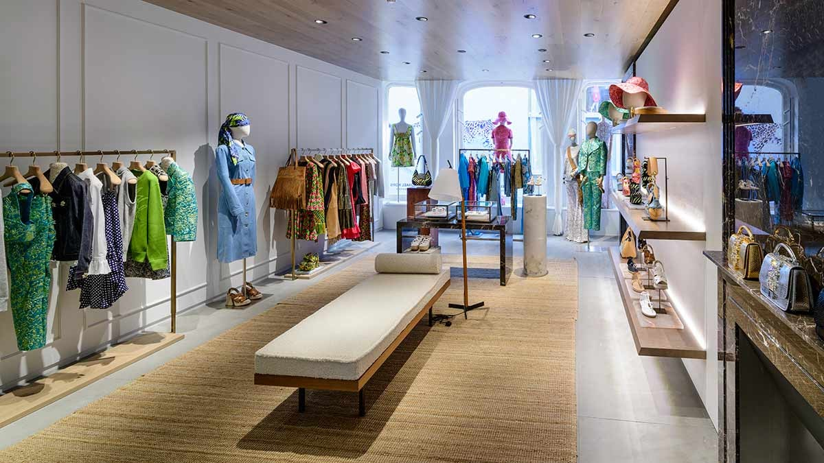 In Pictures: Michael Kors opens on Old Bond Street