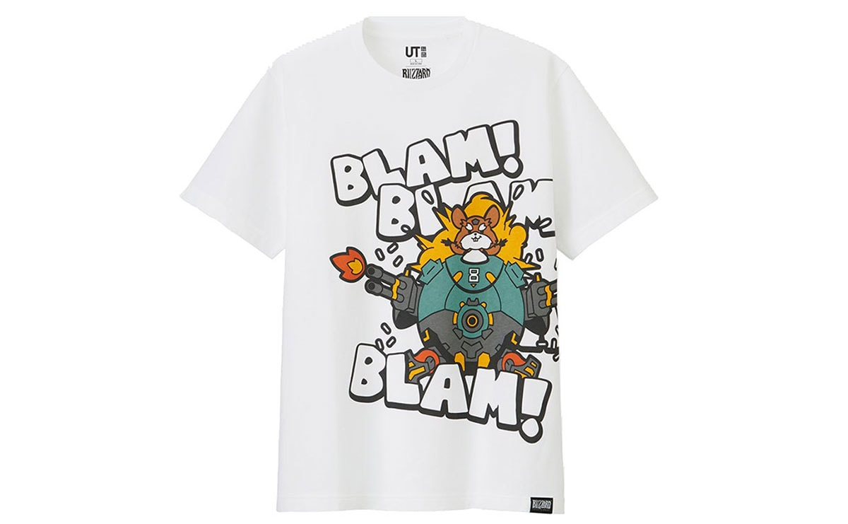 a0a12c6d2 Uniqlo launches T-shirt line with computer game giant Blizzard Entertainment