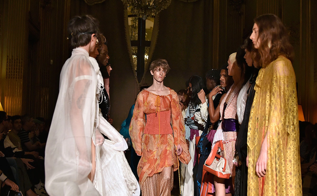 Palomo takes Paris Men's SS20 back to Roman times