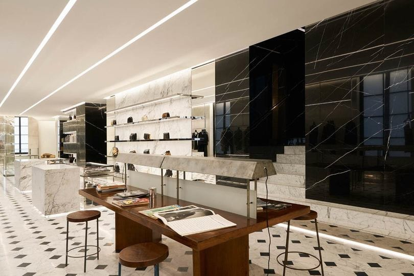 Saint Laurent takes over former Colette location with Rive Droite