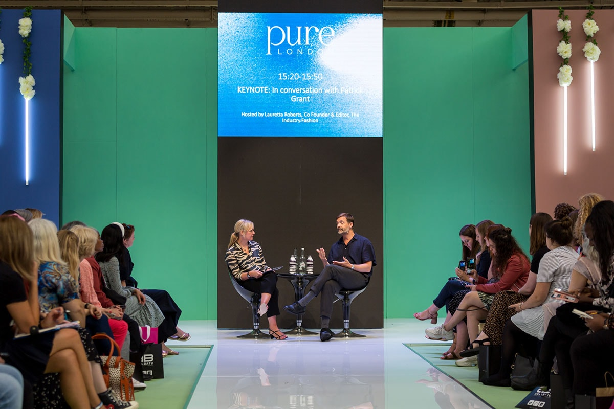 Pure London: Patrick Grant on embracing slow fashion and local manufacturing