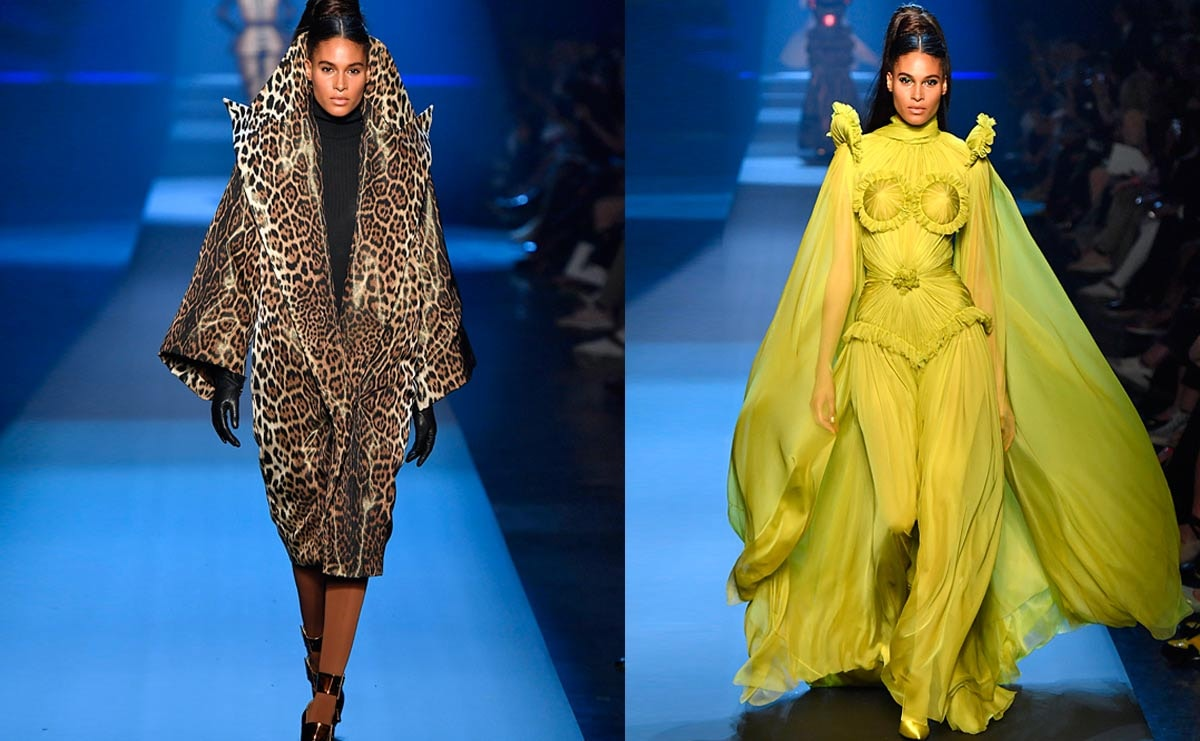 Haute couture turns back on fur, both real and fake