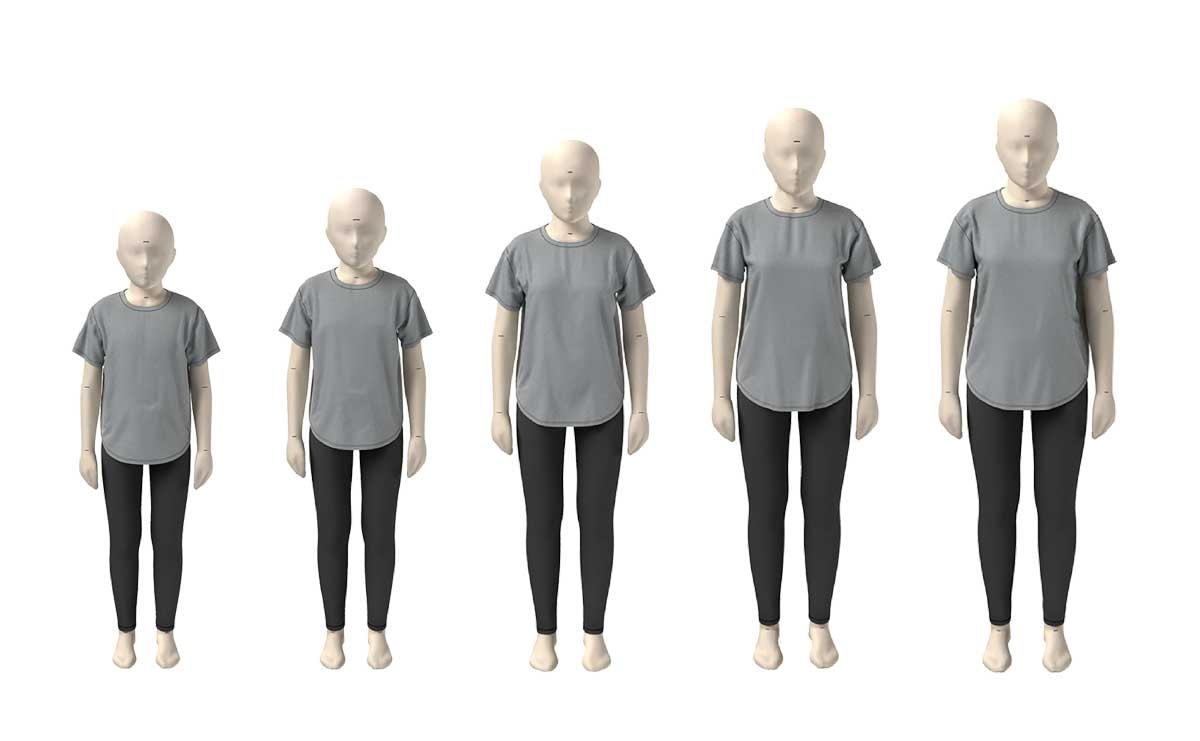 Under Armour utilizes 3D avatar technology to develop digital sizing standards
