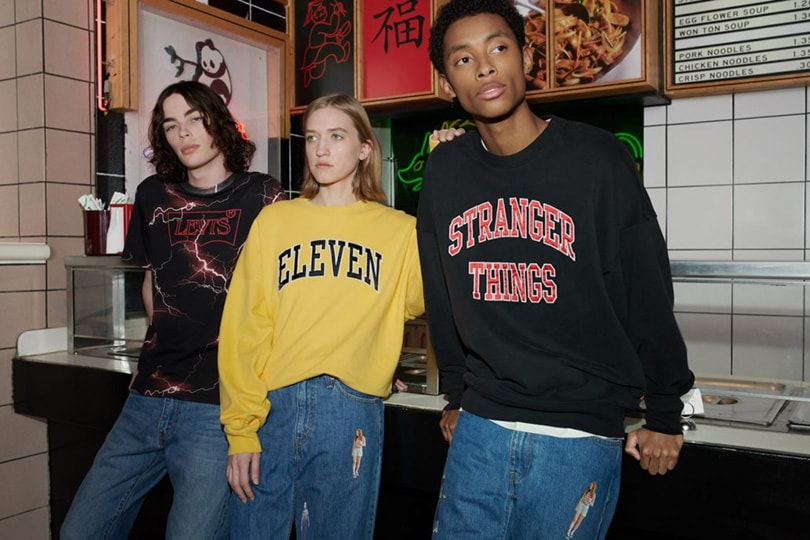 Levi's launches its first-ever TV collab with 'Stranger Things'