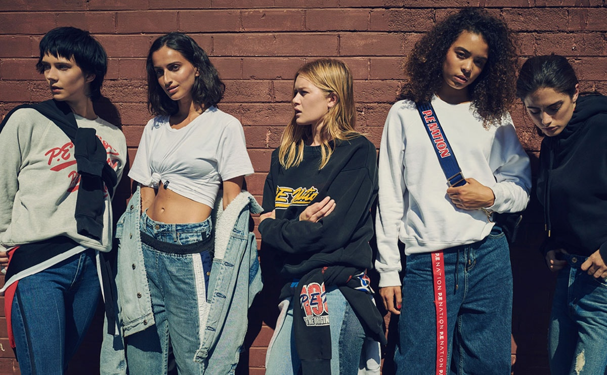 Activewear and streetwear brand P.E. Nation expands into denim