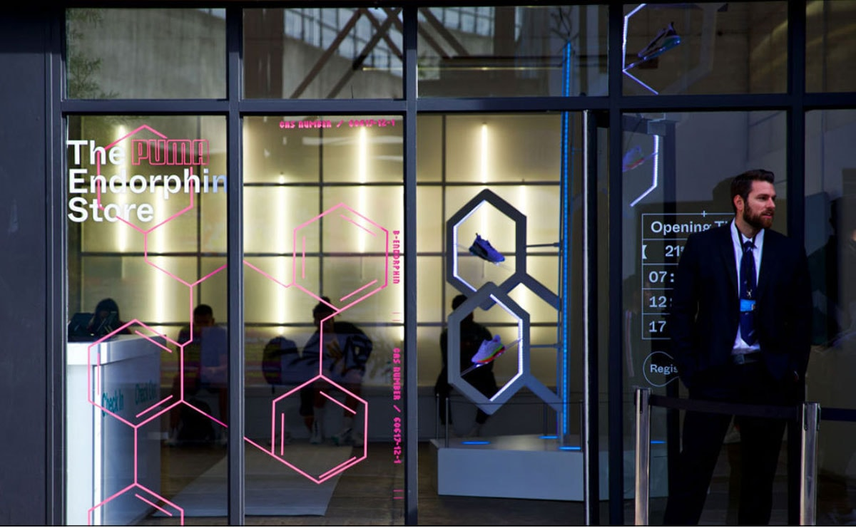Puma launches pop-up 'Endorphin Store' in London