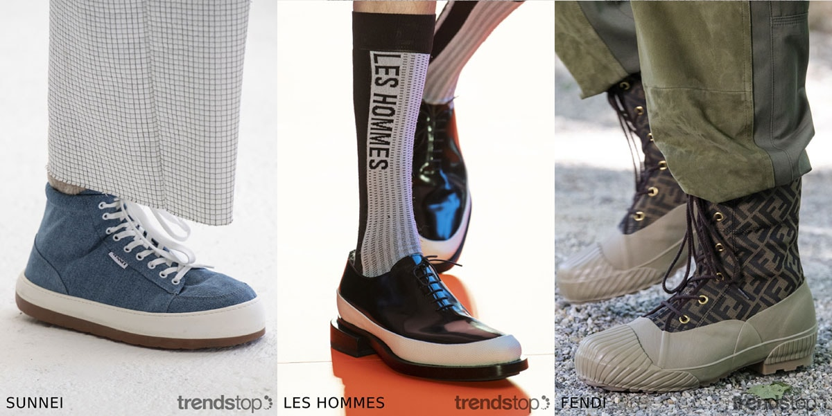Footwear on the Catwalks Spring Summer 2020