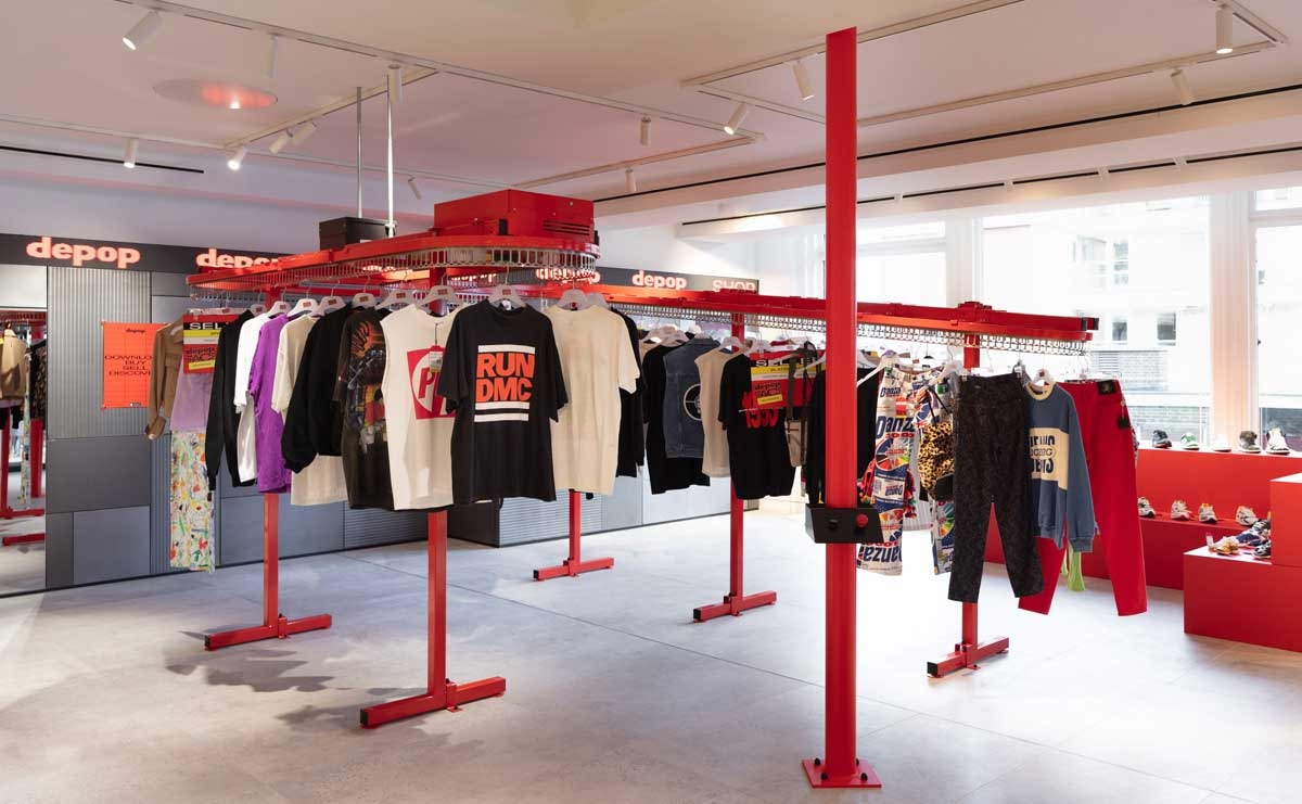 2f5b4af3c3b Depop opens pop-up store in Selfridges
