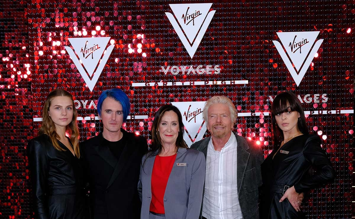 Gareth Pugh unveils Virgin Voyages uniforms during LFW