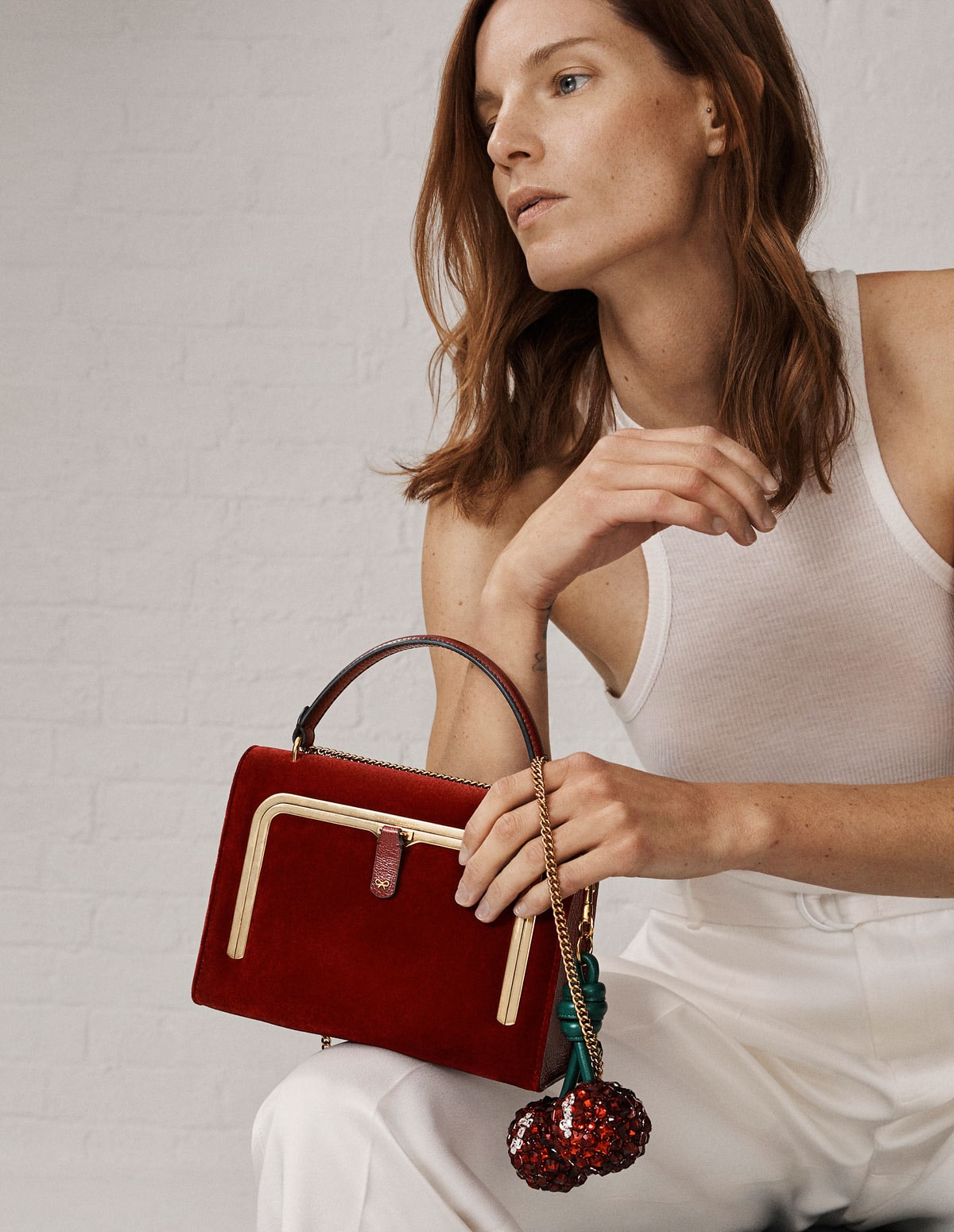 Anya Hindmarch continues consumer focused LFW