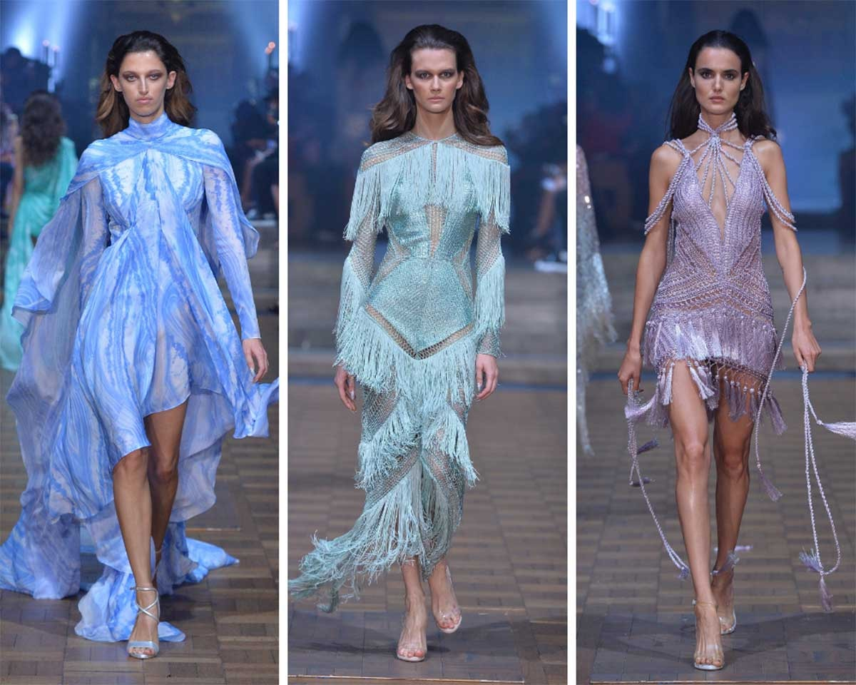 "LFW SS20: Julien Macdonald showcases ""high-high-octane glamour"""