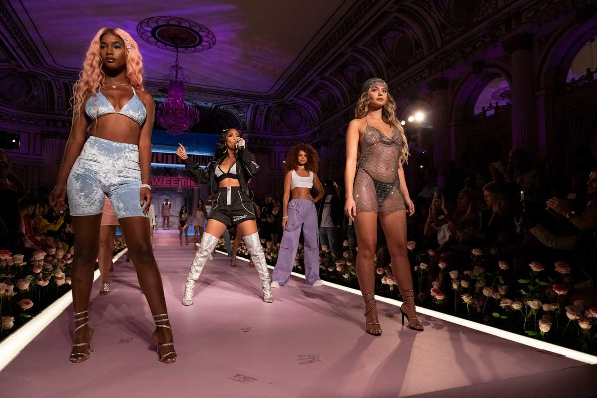 PrettyLittleThing champions diversity with NYFW debut