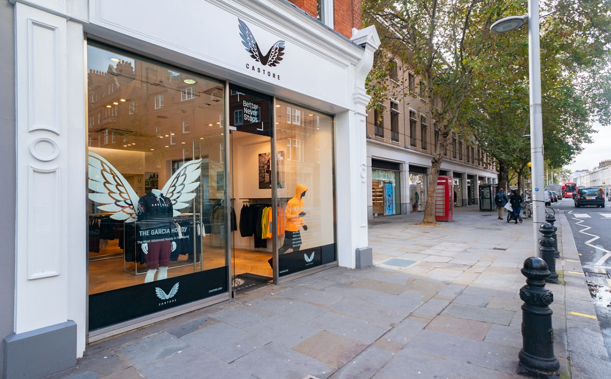 Castore sportswear opens first London flagship
