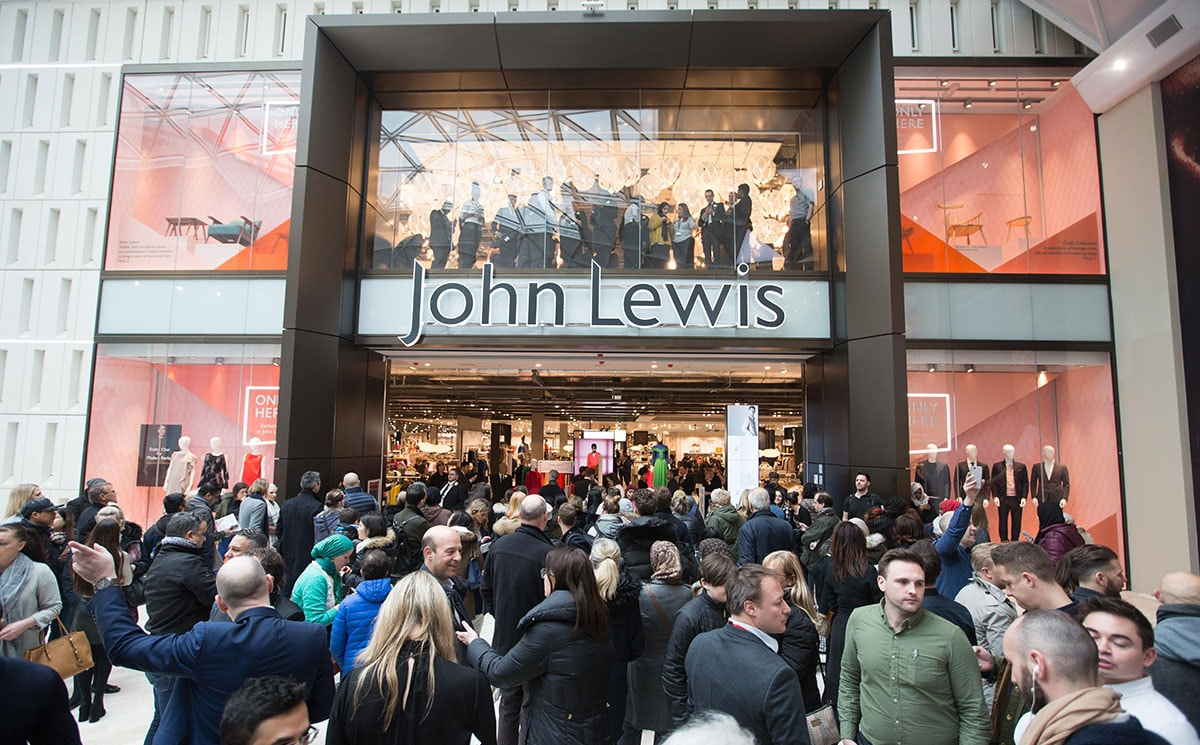 John Lewis launches initiatives to 'reduce, reuse and return' packaging