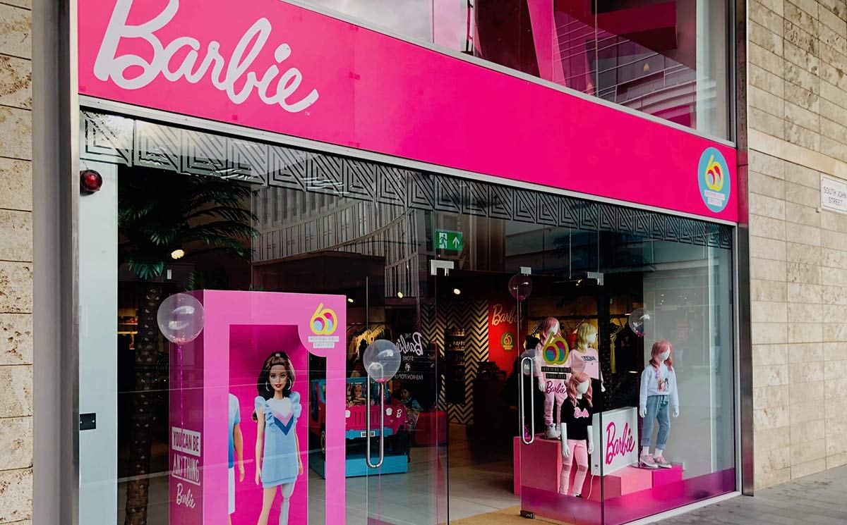Barbie opens fashion pop-up in Liverpool