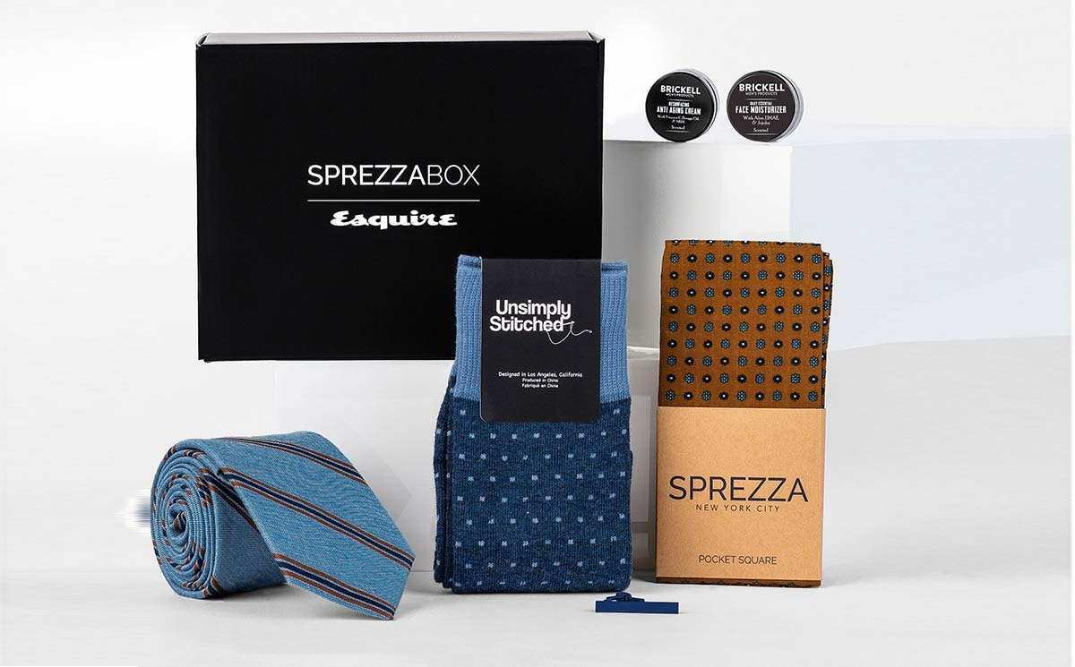 SprezzaBox and Esquire team up to launch subscription box