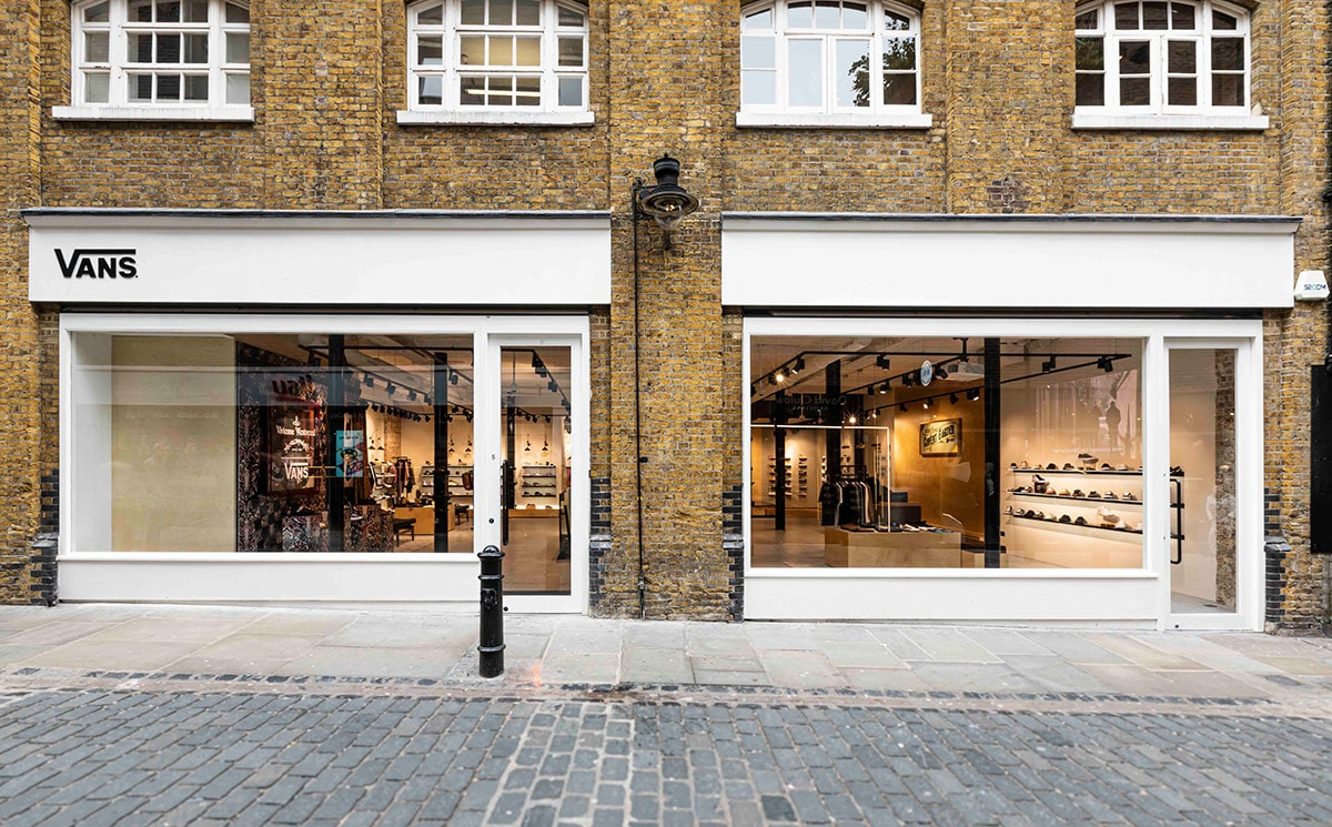 Vans brings new boutique concept to Europe with Covent Garden store