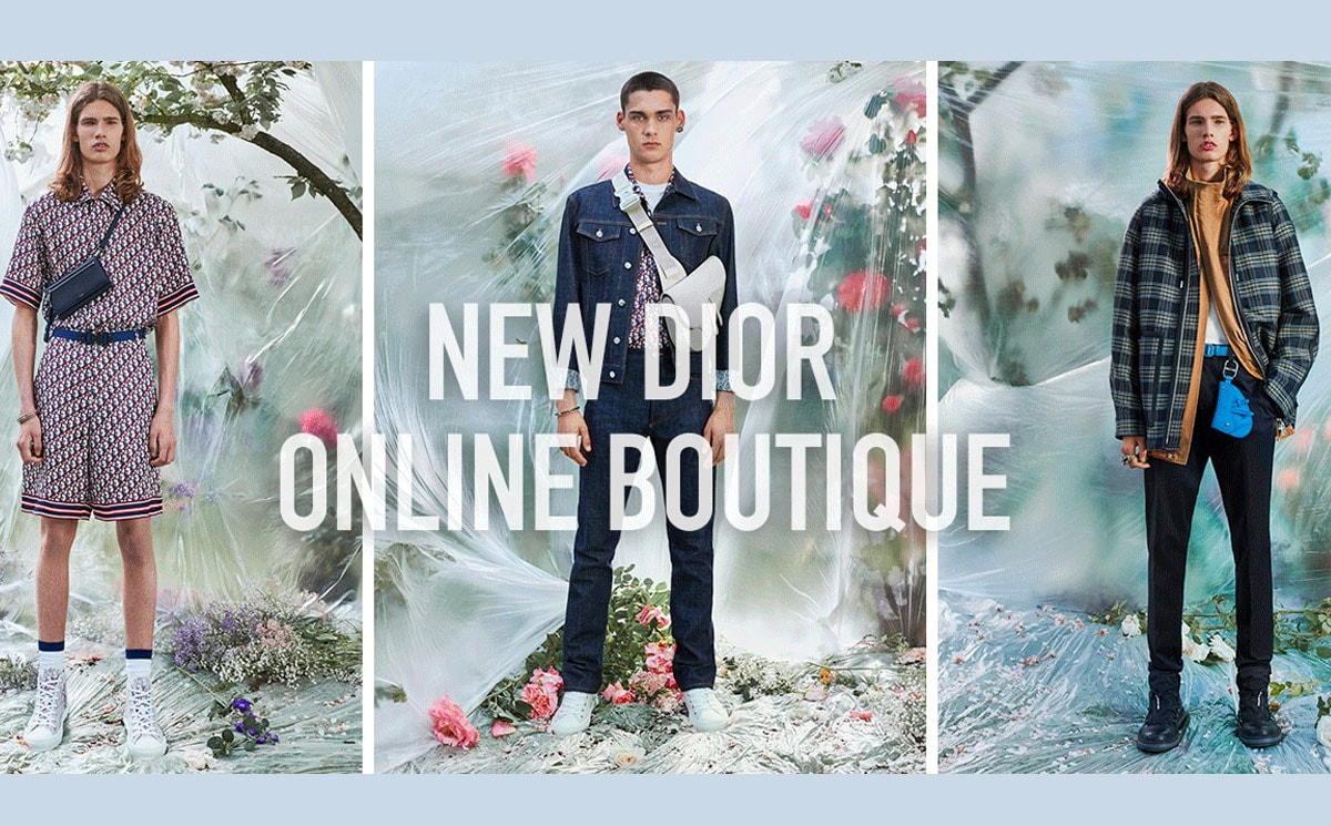 Dior launches e-commerce in Japan