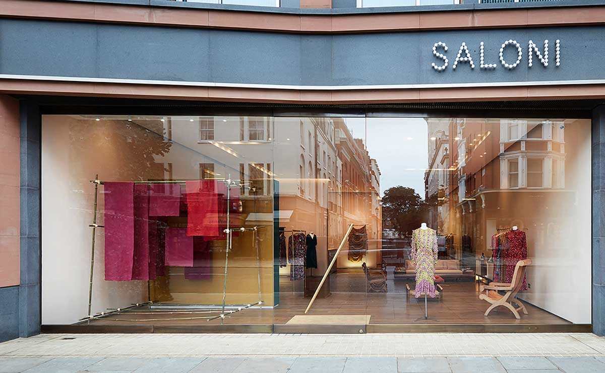 Saloni opens pop-up in London