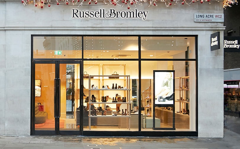 Russell & Bromley opens relocated Covent Garden store