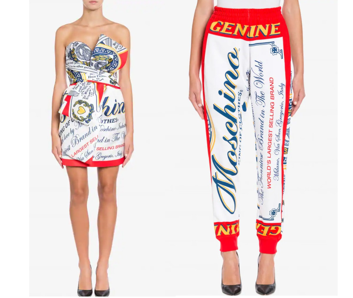 Moschino unveils new collaboration with Budweiser