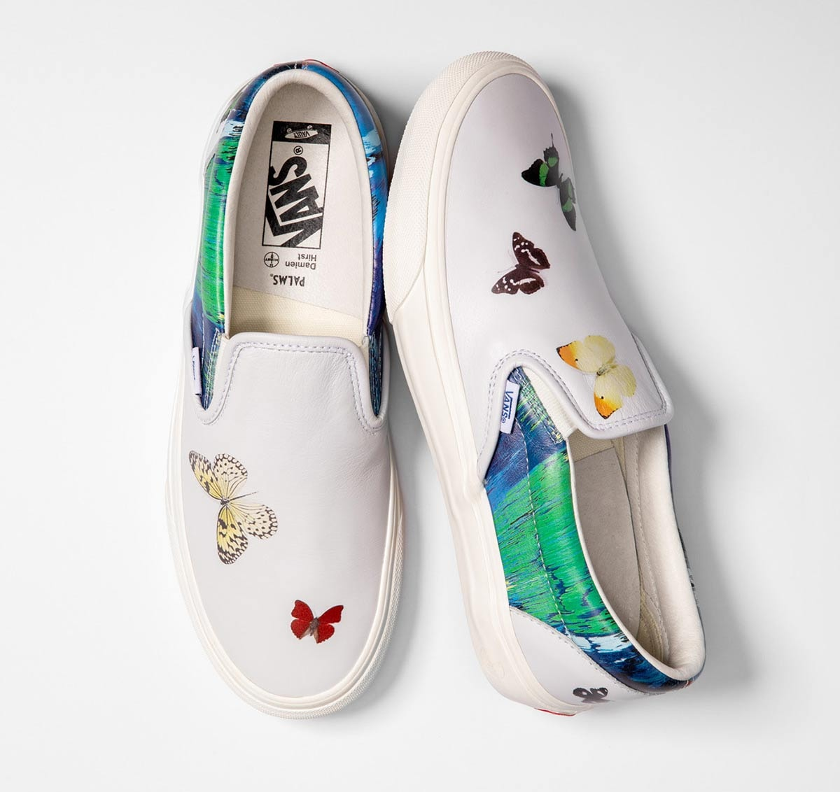 Vans taps artist Damien Hirst for latest collaboration