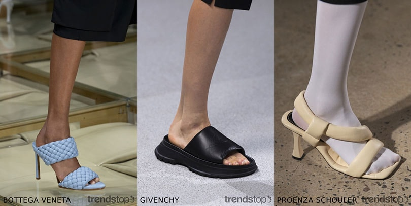 Spring Summer 2020 Footwear Trends.Women S Footwear Trends From The Catwalks Spring Summer 2020