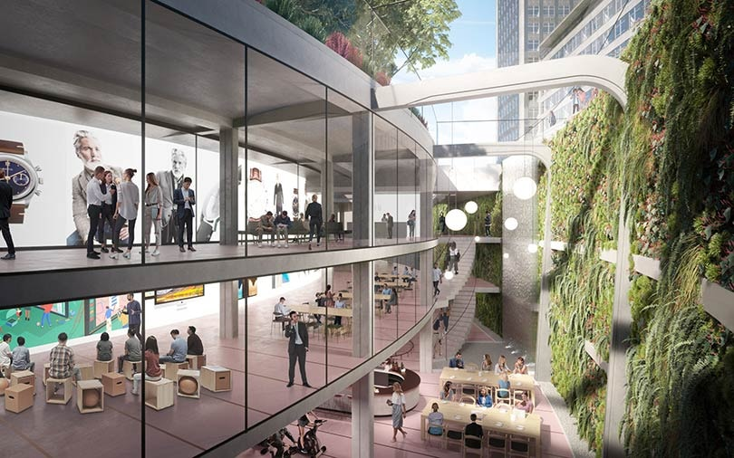 "Cavendish Square to be transformed into the ""Oasis"" of Oxford Street"