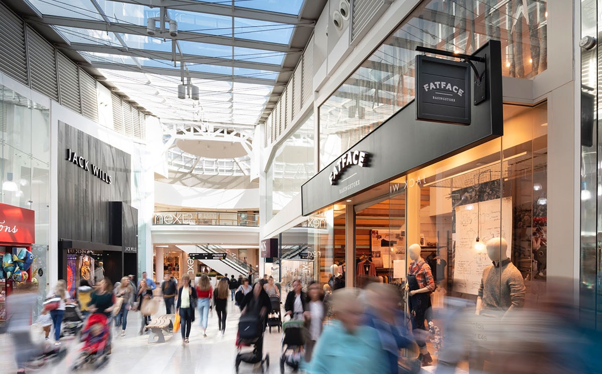 Joules to join lineup at Festival Place as shopping centre sees continued growth