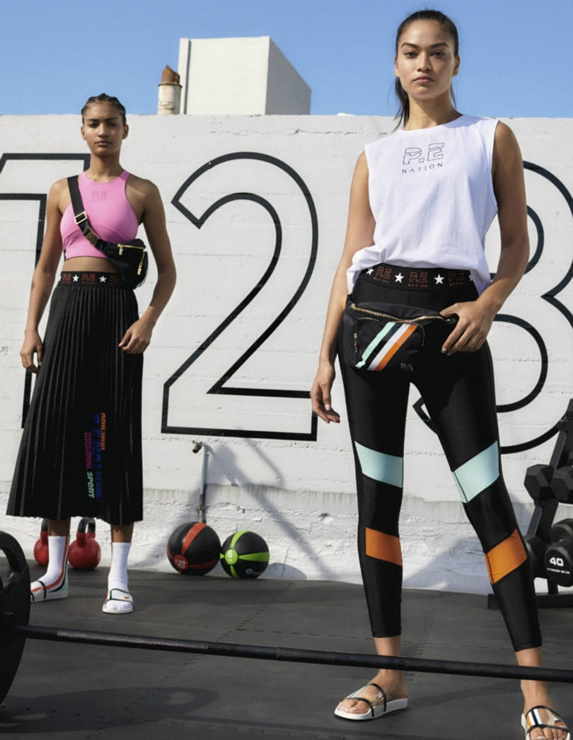 P.E Nation x H&M: Sustainably sourced