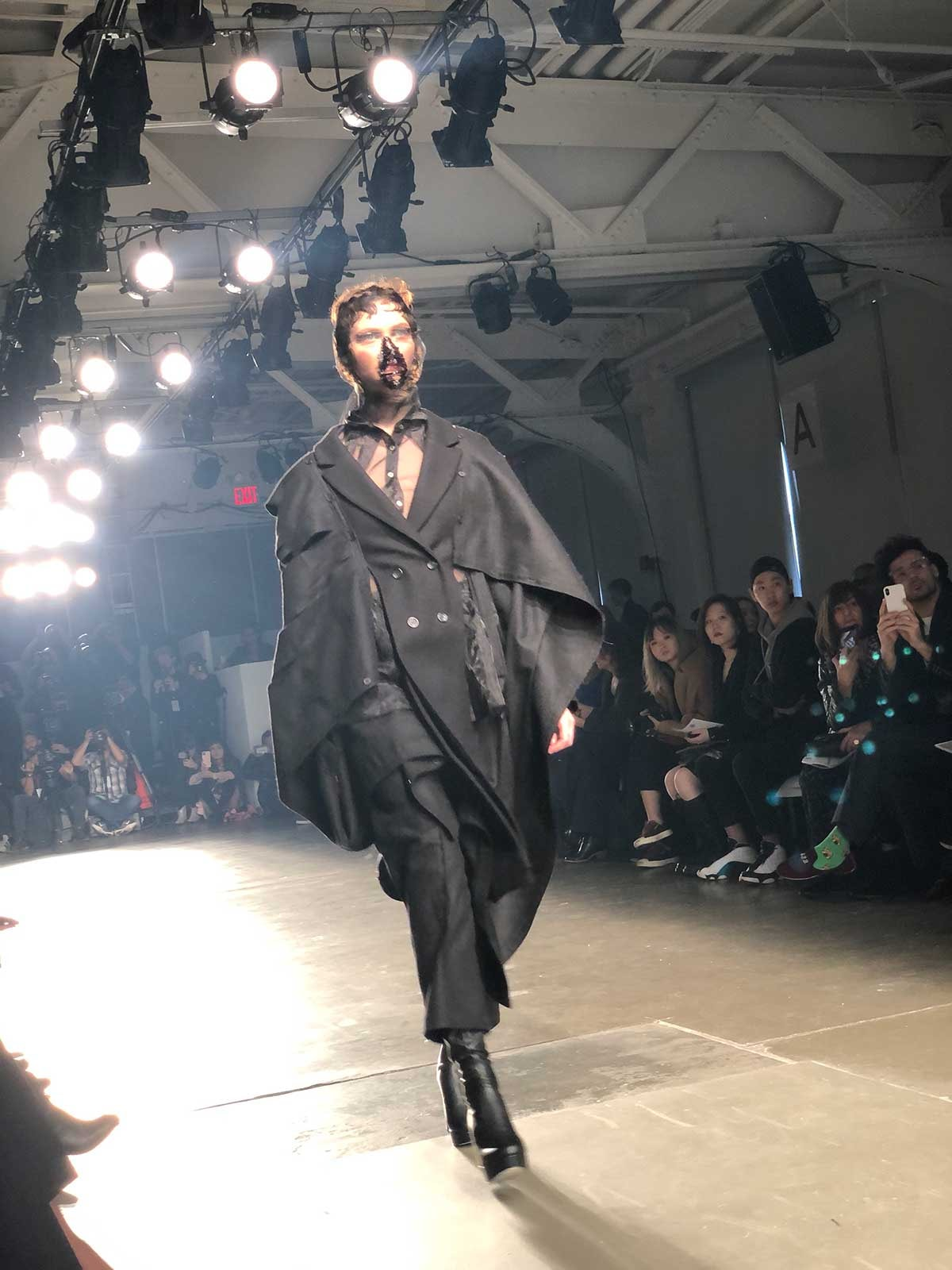 Brother International sponsors FIT's show at NYFW