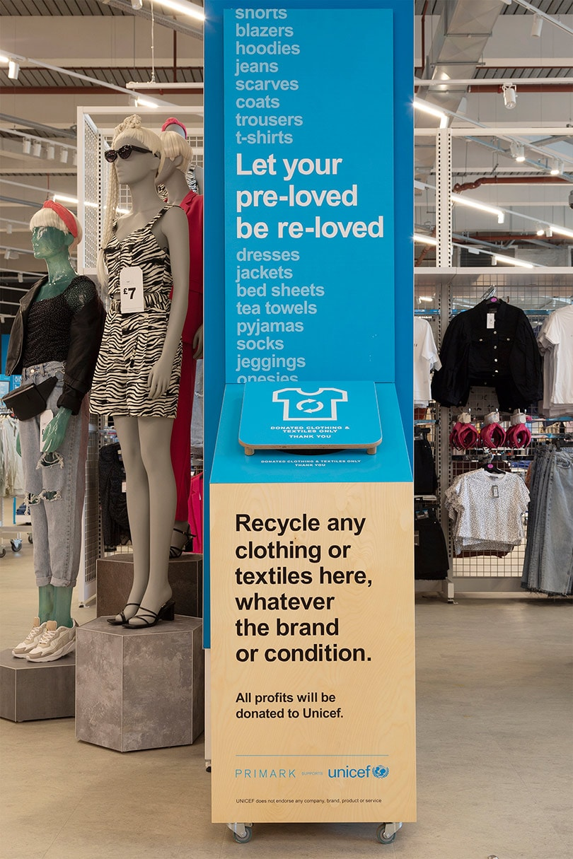 Primark launches new UK in-store recycling scheme