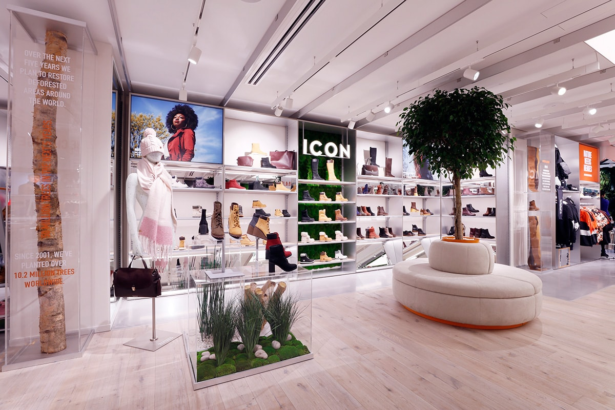 Timberland's Carnaby Street wins accolades for purpose-led concept
